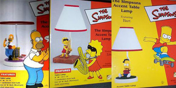 3 New Accent Table Lamps — Simpsons Crazy