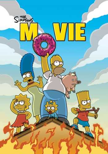 The Simpsons Movie official poster