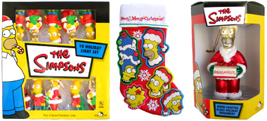 holidays are here and christmas is just around the corner make sure you have all your simpsons holiday decor up before its too late wicked cool stuff